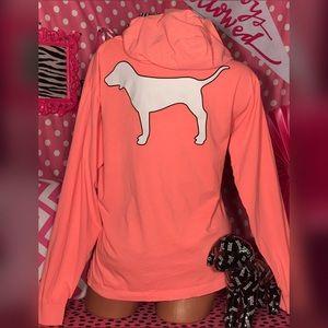 Pink Victorias Secret Campus Hoodie 🌴